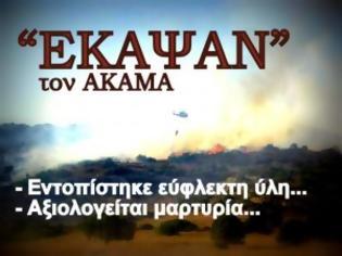 Φωτογραφία για Kύπρος: Έργο εμπρηστών η πυρκαγιά στον Ακάμα