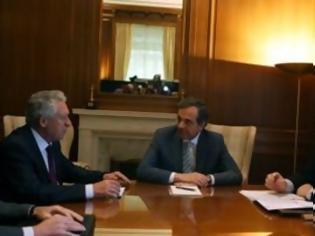 Φωτογραφία για Επαφή... τριών αρχηγών για τις προγραμματικές