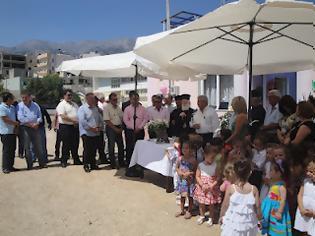 Φωτογραφία για Εγκαινιάστηκε ο νέος δημοτικός παιδικός σταθμός στον Κρουσώνα