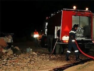 Φωτογραφία για Υπό μερικό έλεγχο η πυρκαγιά στον Κάλαμο