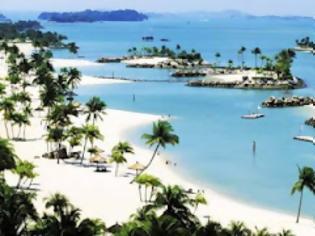 Φωτογραφία για Ένα νησί με τεχνητές παραλίες [pics]