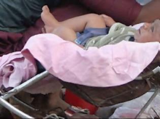 Φωτογραφία για Πακιστάν-Άνδρας έθαψε ζωντανή τη νεογέννητη κόρη του επειδή ήταν σωματικά παραμορφωμένη..