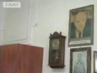 Φωτογραφία για Ο Ανδρέας Παπανδρέου έγινε «άγιος» σε εικονοστάσι σε ΚΑΠΗ της Κρήτης [βίντεο]