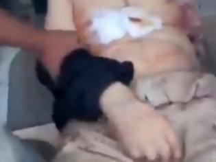 Φωτογραφία για Βίντεο σοκ για τον Καντάφι [Προσοχή πολύ σκληρές σκηνές]