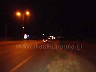 Φωτογραφία για Ένα χρόνο σβηστά τα φώτα στην Ε.Ο Πύργου - Πατρών! Συνεχής κίνδυνος ατυχημάτων!