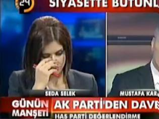 Φωτογραφία για Διάσημη τουρκάλα δημοσιογράφος λιποθύμησε on air..[Βίντεο]