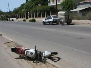 Φωτογραφία για Πύργος: Τραυματίστηκε μοτοσικλετιστής