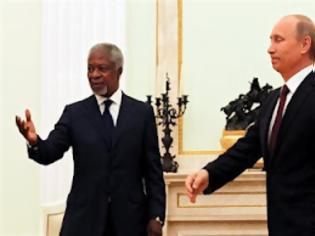 Φωτογραφία για Στήριξη στον Ανάν υποσχέθηκε ο Πούτιν