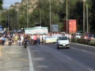 Φωτογραφία για Κλειστή η λεωφόρος Αθηνών από εργαζομένους στο Σκαραμαγκά