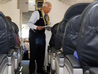 Φωτογραφία για Αεροσυνοδός για το βιβλίο ρεκόρ Γκίνες!
