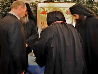 Φωτογραφία για Τι έκανε ο Πούτιν στη μονή Ιβήρων, του Αγ. Όρους