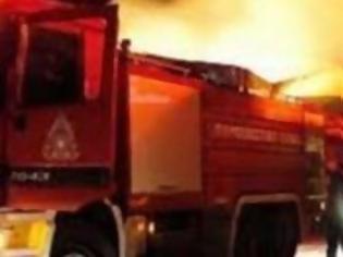 Φωτογραφία για Σε εξέλιξη πυρκαγιά στα Μέγαρα