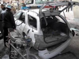Φωτογραφία για Τέσσερις τραυματίες από βομβιστική επίθεση στη Δαμασκό