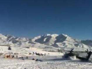 Φωτογραφία για Δείτε πως συνετρίβη ένα Apache AH-64 στο Αφγανιστάν! [video]