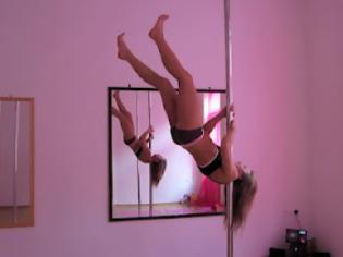 Φωτογραφία για Εκπληκτική φιγούρα από την sexy αθλήτρια του Pole Dancing! (video)