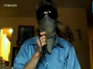 Φωτογραφία για Οι Anonymous για πρώτη φορά στην ελληνική τηλεόραση (video)