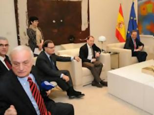 Φωτογραφία για MEGA ερώτημα αναγνώστη: η κα Σπυράκη ήταν ή δεν ήταν στην Ισπανία με τον Αντώνη Σαμαρά... Και την ομάδα του;