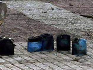 Φωτογραφία για Τοποθέτησαν γκαζάκια στο Υπουργείο Εσωτερικών