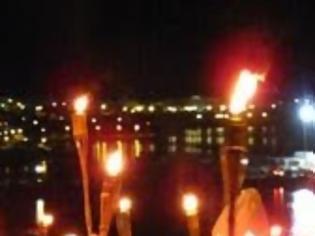 Φωτογραφία για 25η Μαρτίου: Λαμπαδηφορία στη Σκόπελο...