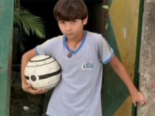 Φωτογραφία για Απίστευτος 11χρονος ποδοσφαιριστής χωρίς πόδια (video)