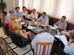 Φωτογραφία για Σύσκεψη για το έργο της Παράκαμψης των Γιαννιτσών