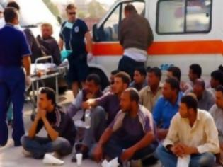 Φωτογραφία για Συνελήφθησαν άλλοι 25 λαθρομετανάστες στην περιοχή του Βαρθολομιού