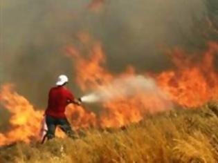 Φωτογραφία για Μεγάλη πυρκαγιά στο Ρέθυμνο