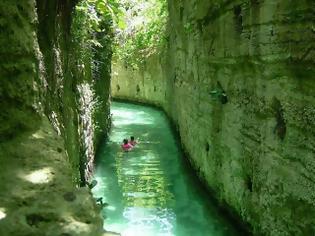 Φωτογραφία για Η μαγεία ενός «υπόγειου» ποταμού!
