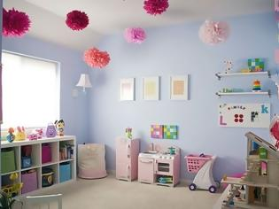 Φωτογραφία για 5 τρόποι για να οργανώσετε το playroom