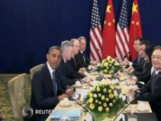 Φωτογραφία για Ομπάμα: Δεσμεύομαι να συνεργαστώ με την Κίνα