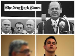 Φωτογραφία για New York Times> H Xρυσή Αυγή ιδρύθηκε με διαταγή του δικτάτορα Παπαδόπουλου ...!!!