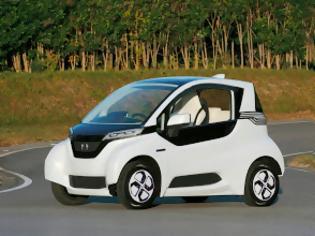 Φωτογραφία για Η Honda παρουσίασε το Μικρό Ηλεκτρικό Πρωτότυπο Όχημα Micro Commuter Prototype – Οι Δοκιμές Ξεκινούν το 2013 με Οχήματα Βασισμένα στην 'Πλατφόρμα Μεταβλητής Σχεδίασης'