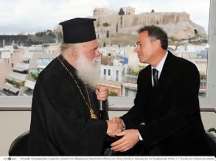 Φωτογραφία για Υπογραφή προγραμματικής σύμβασης μεταξύ Περιφέρειας Αττικής και Ιεράς Αρχιεπισκοπής Αθηνών για την κατασκευή παιδικού σταθμού