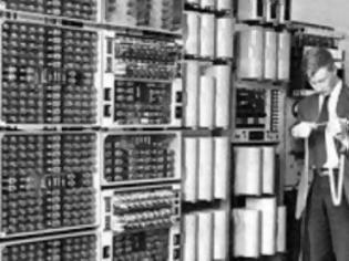 Φωτογραφία για Έθεσαν και πάλι σε λειτουργία 60χρονο υπολογιστή
