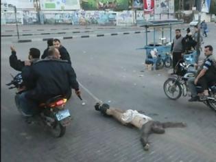 Φωτογραφία για Eικόνες-σοκ από την Παλαιστίνη (video)