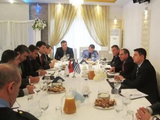 Φωτογραφία για Συνάντηση Αστυνομικών Αρχών Ηπείρου με εκπροσώπους της Αλβανικής Αστυνομίας για την εγκληματικότητα [ΦΩΤΟ]