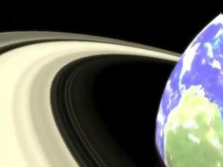 Φωτογραφία για Πώς θα ήταν η Γη αν είχε δακτύλιους;