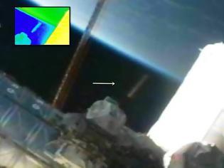 Φωτογραφία για UFO σε σχήμα πούρο εθεάθη στον Διεθνής Διαστημικός Σταθμός (ISS) - 16 Δεκεμβρίου 2012