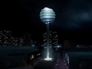Φωτογραφία για Περιστρεφόμενος πύργος προσφέρει θέα στην πόλη!