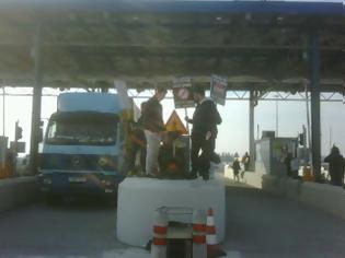 Φωτογραφία για Κινητοποίηση τώρα στα διόδια Αιγινίου κατά της έναρξης της λειτουργίας τους
