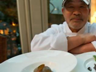 Φωτογραφία για Τόσιο Τανάμπε, ένας σεφ που μαγειρεύει υψηλή κουζίνα από... χώμα