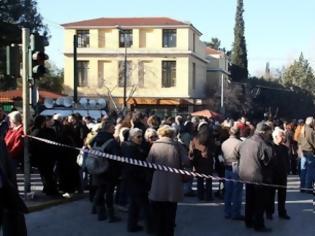 Φωτογραφία για Συγκέντρωση συμπαράστασης στα 35 μέλη του ΠΑΜΕ