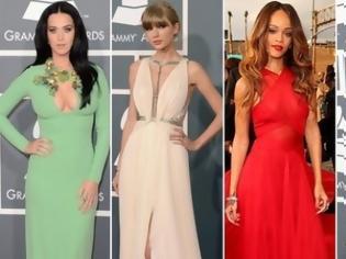 Φωτογραφία για ΔΕΙΤΕ τις καλοντυμένες και τις κακοντυμένες των βραβείων «Grammys»!