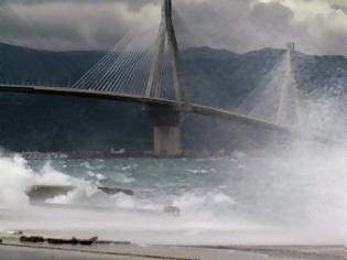 Φωτογραφία για Πάτρα: Πρόσκρουση πλοίου στη γέφυρα Ρίου - Αντιρρίου