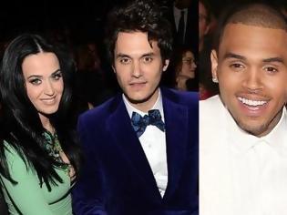 Φωτογραφία για Η Katy Perry απέφυγε την Rihanna στα Grammys γιατί δεν εγκρίνει τη σχέση της με τον Chris Brown