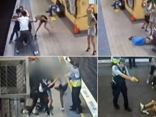 Φωτογραφία για Βίντεο-ΣΟΚ: Άγρια επίθεση συμμορίας εφήβων κοριτσιών σε ζευγάρι