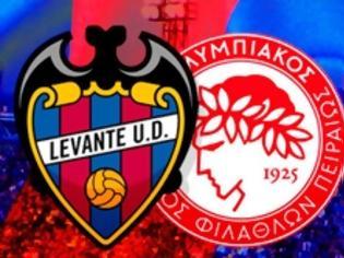 Φωτογραφία για LEVANTE UD - OLYMPIACOS FC 0-0