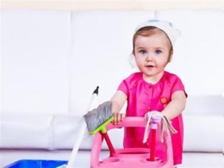 Φωτογραφία για Μάθετε το παιδί σας να βοηθά στις δουλειές του σπιτιού