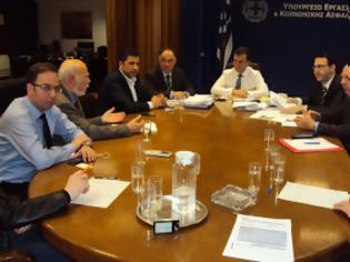 Φωτογραφία για Συνάντηση ΙΣΑ με Υπουργό Εργασίας για θέματα του ΤΣΑΥ και Νομοθετικές Αλλαγές στο Ασφαλιστικό