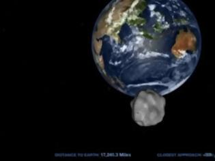 Φωτογραφία για LIVE VIDEO: Δείτε ζωντανά το πέρασμα του αστεροειδή DA14 ξυστά από τη Γη